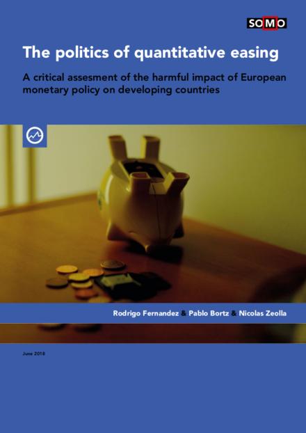 publication cover - De gevolgen van (het einde van) 'quantitative easing'