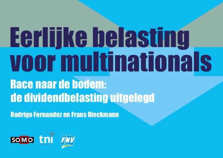 publication cover - Eerlijke belastingen voor multinationals