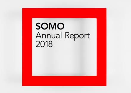 publication cover - Jaarverslag SOMO 2018
