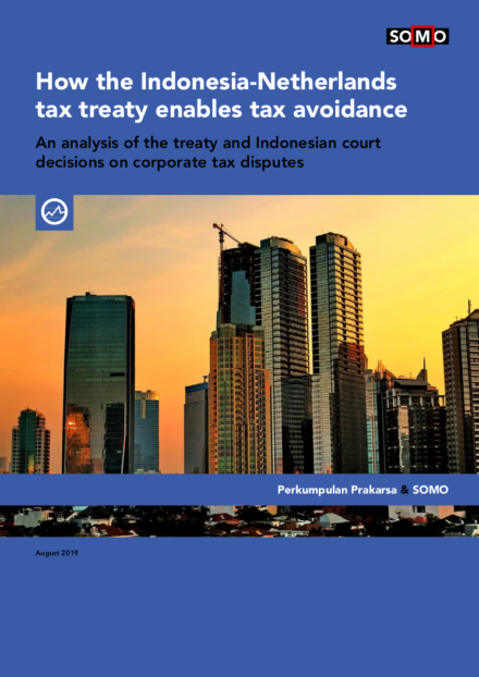 publication cover - Hoe het belastingverdrag Indonesië-Nederland belastingontwijking mogelijk maakt
