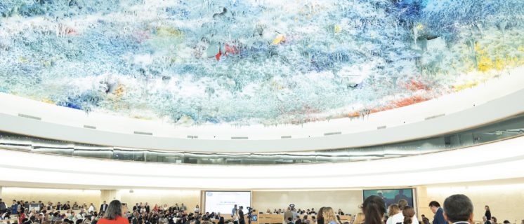 A general view of prticipants during 41st Session of the Human Rights Council. 24 june 2019. UN Photo/ Jean Marc Ferré
