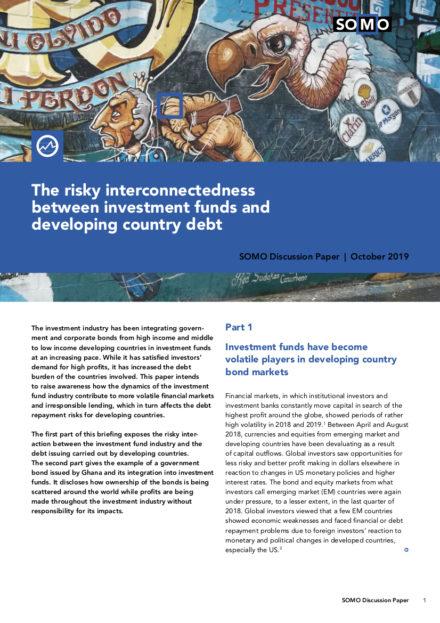 publication cover - De risicovolle dynamiek tussen investeringsfondsen en schuldenlast