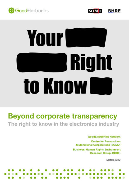 publication cover - Beyond corporate transparency
