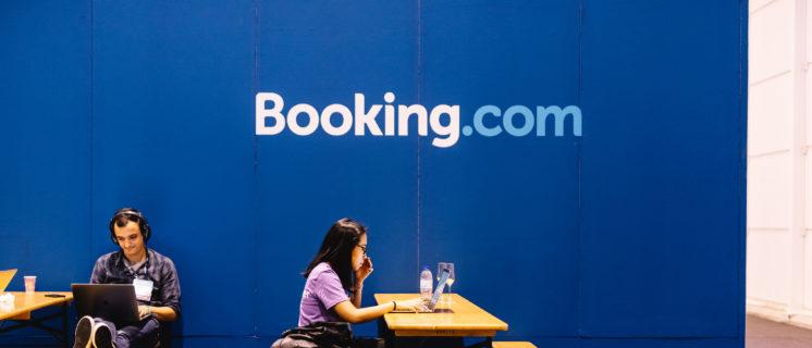 Web Summit 2019, Booking.com - 5 November 2019.