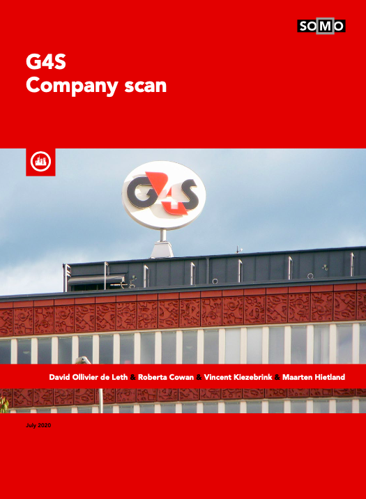 publication cover - G4S company scan