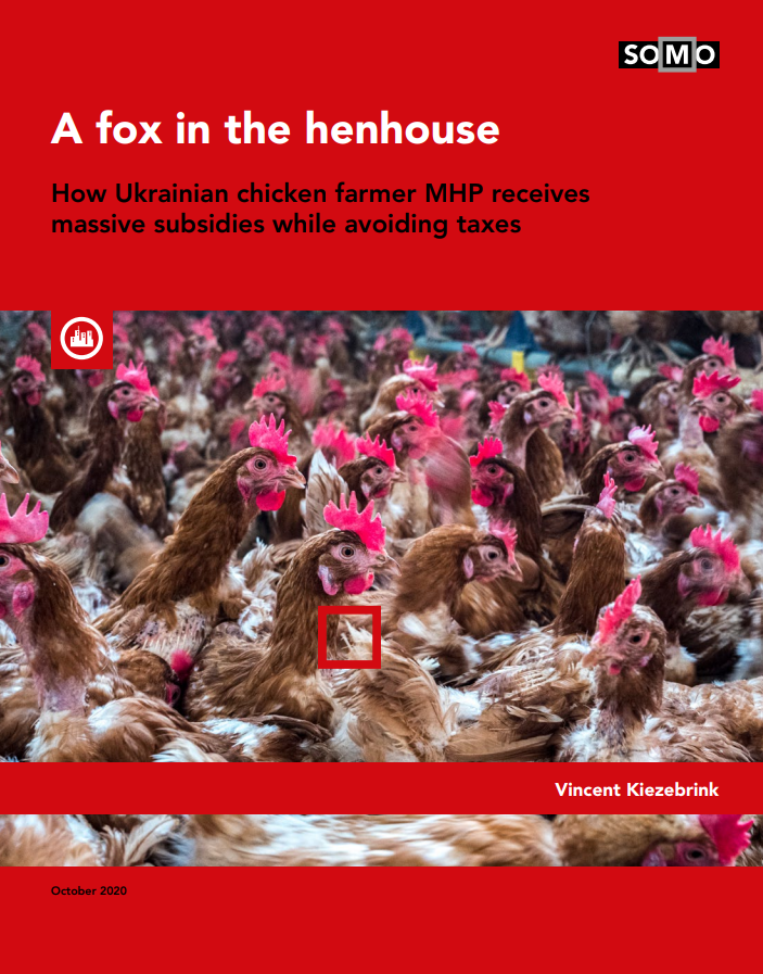 publication cover - A fox in the henhouse
