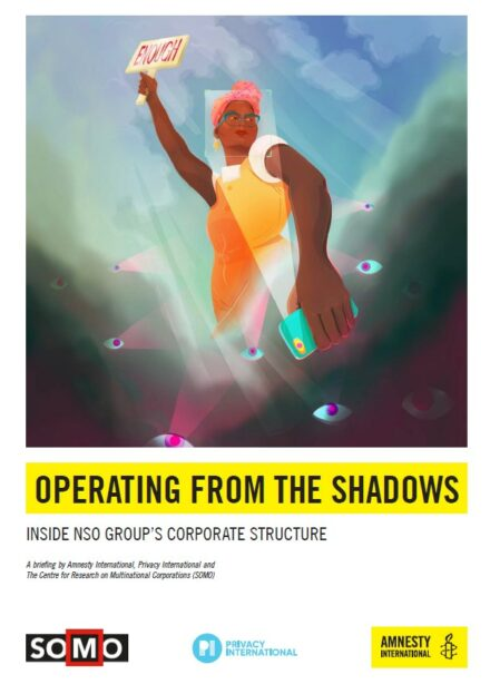 publication cover - Operating from the shadows