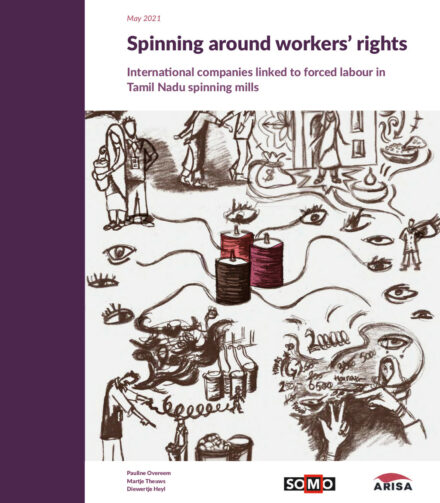 publication cover - Spinning Around Workers' Rights