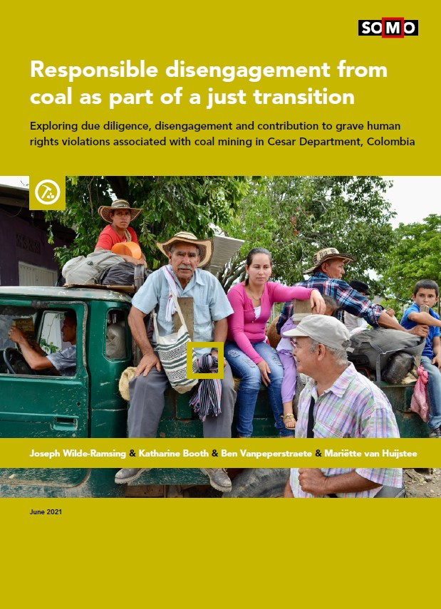 publication cover - Responsible disengagement from coal as part of a just transition