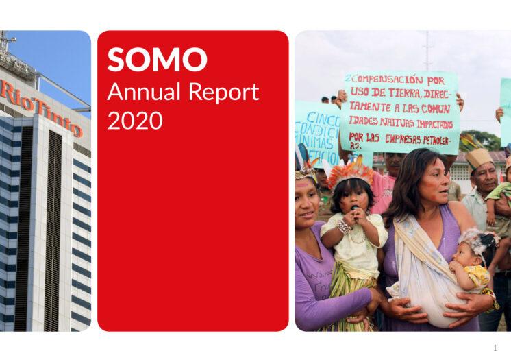 publication cover - Jaarverslag 2020