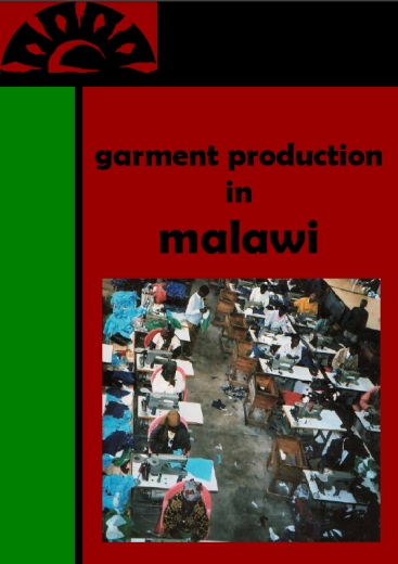 publication cover - Garment Production in Malawi