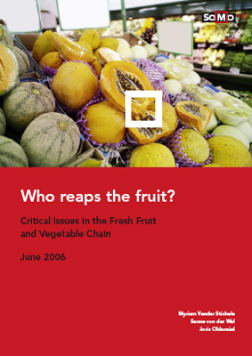 publication cover - Who reaps the fruit? (update)