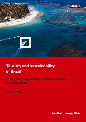 publication cover - Tourism and Sustainability in Brazil