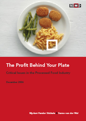 publication cover - The profit behind your plate