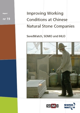 publication cover - Improving working conditions at Chinese natural stone companies