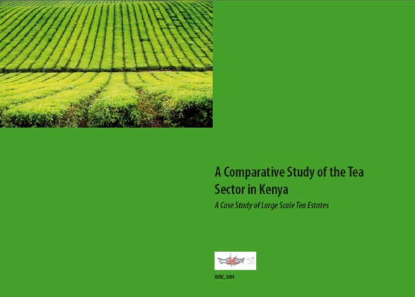 publication cover - A Comparative Study of the Tea Sector in Kenya