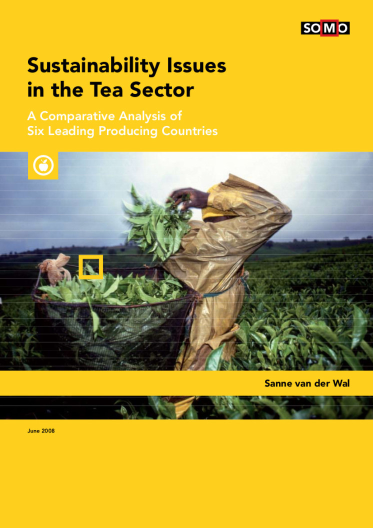 Sustainability Issues in the Tea Sector