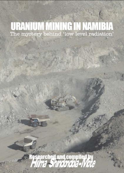publication cover - Uranium mining in Namibia