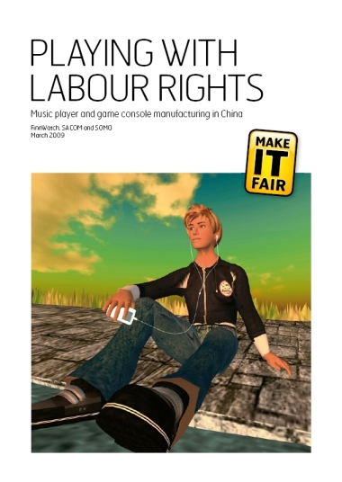 publication cover - Playing with Labour Rights