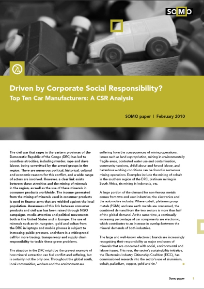 automakers-not-driven-by-responsibility - SOMO