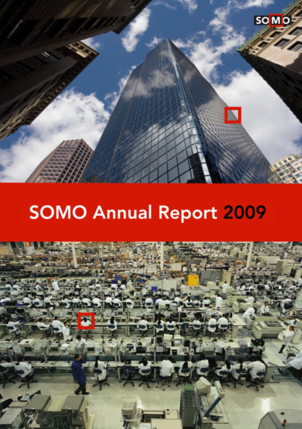 publication cover - SOMO – Annual Report 2009