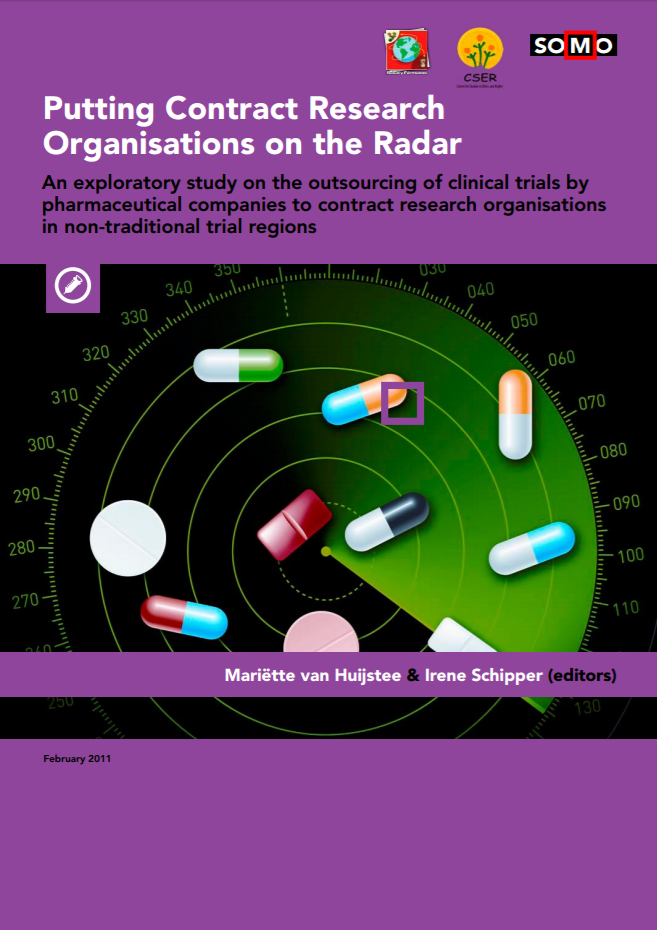 publication cover - Putting Contract Research Organisations on the Radar
