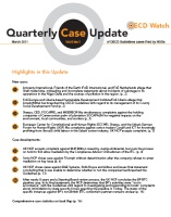 publication cover - OECD Watch Quarterly Case Update March 2011