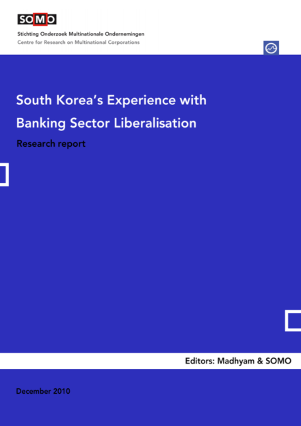 publication cover - South Koreas Experience with Banking Sector Liberalisation