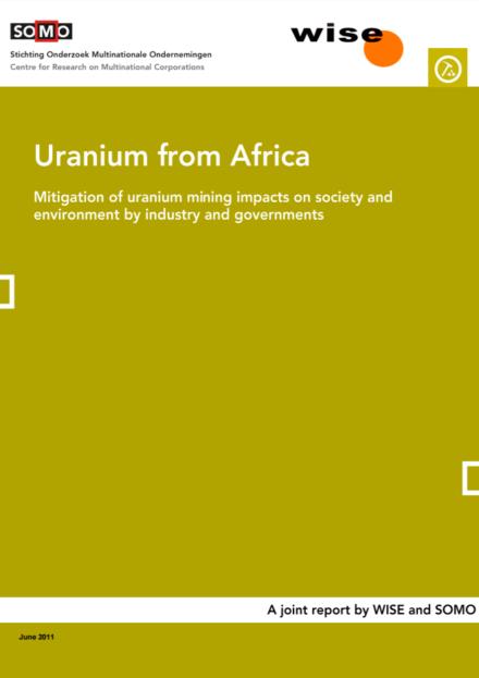 publication cover - Uranium from Africa