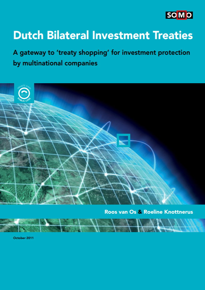 publication cover - Dutch Bilateral Investment Treaties