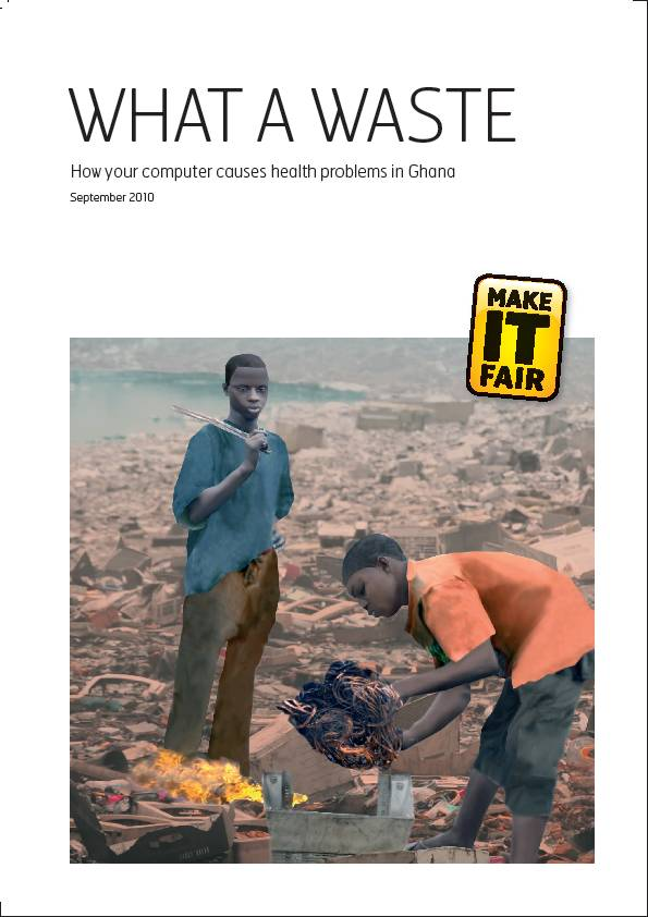 publication cover - What a Waste
