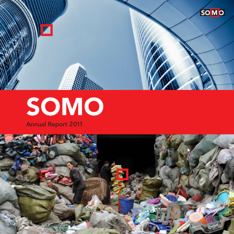 publication cover - SOMO – Annual Report 2011