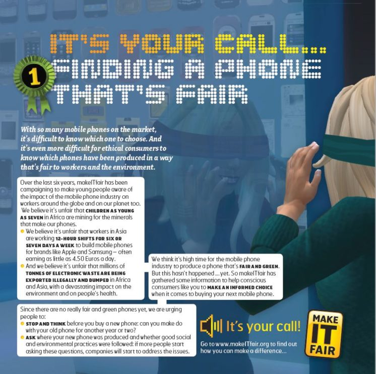 publication cover - It's your call: finding a phone that's fair