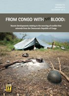 publication cover - From Congo with (no) blood