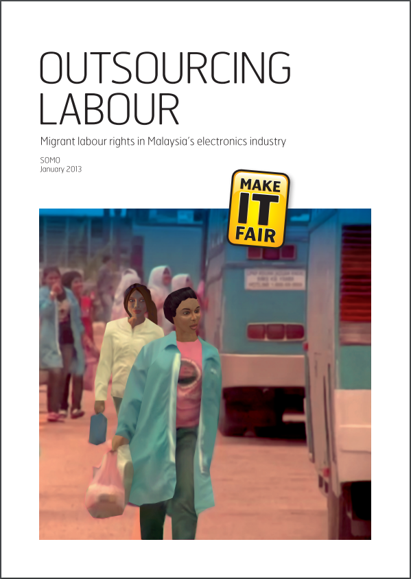 publication cover - Outsourcing Labour