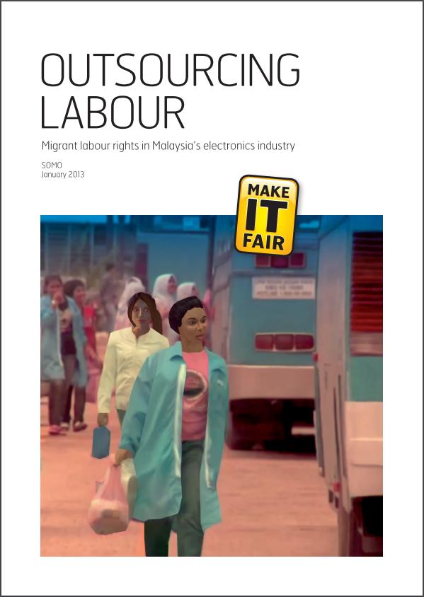 publication cover - Outsourcing Labour