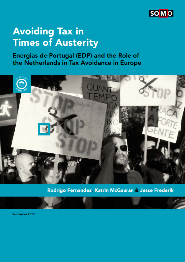 publication cover - Avoiding Tax in Times of Austerity