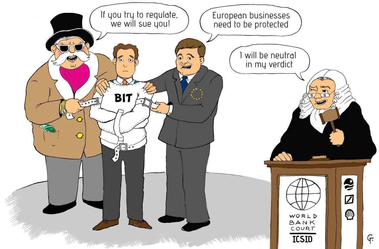 Free Trade Agreement Between The Eu And The U S Threatens The Public
