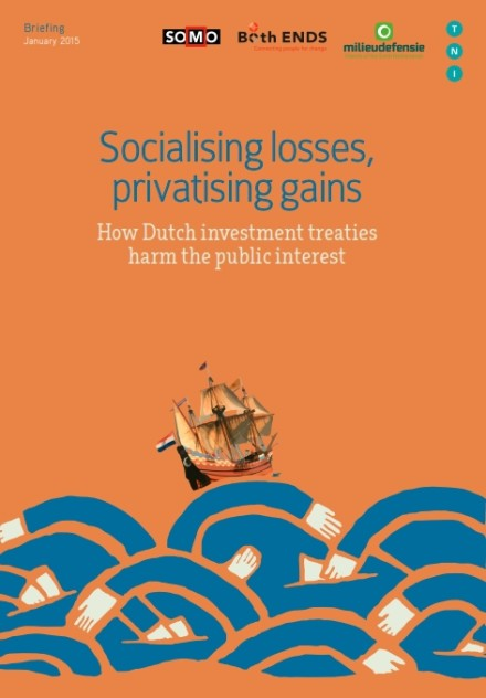 publication cover - Socialising losses, privatising gains