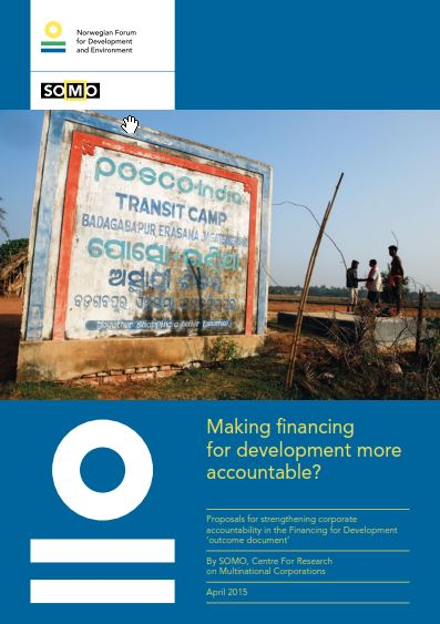 publication cover - Making financing for development more accountable?