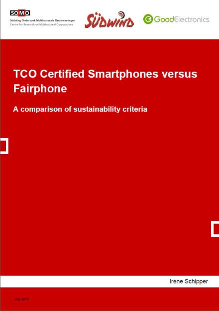publication cover - TCO Certified Smartphones versus Fairphone