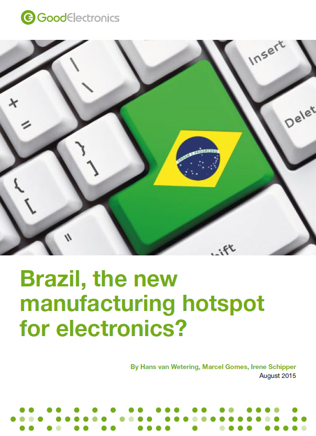 publication cover - Brazil, the new manufacturing hotspot for electronics?