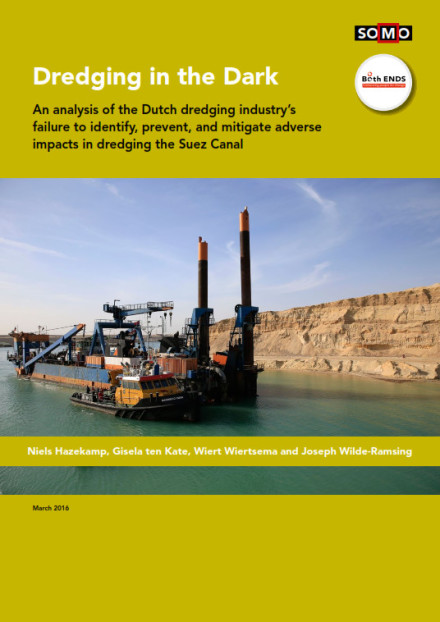 publication cover - Dredging in the Dark