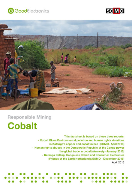 publication cover - Responsible Mining: Cobalt