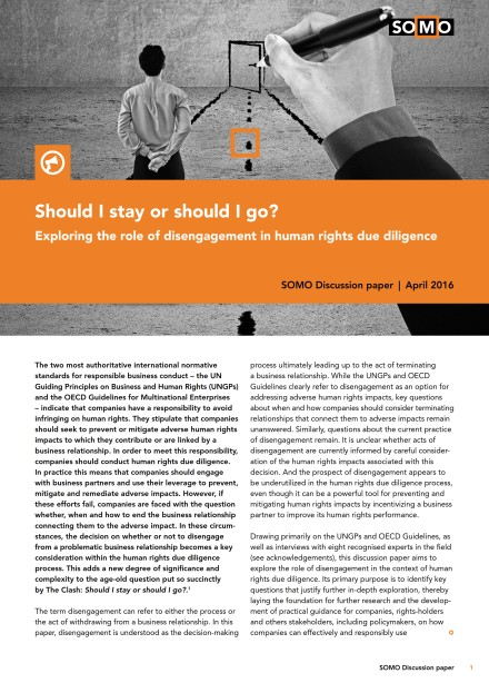 publication cover - Should I stay or should I go?