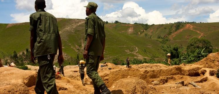 Gold mine in South Kivu, Congo - Sasha Lezhnev Enough Project