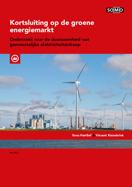 publication cover - Short circuit on the green energy market