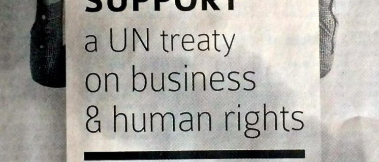 open topic about UN Treaty on Business and Human rights