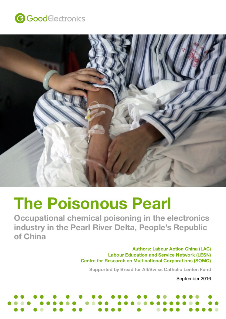 The Poisonous Pearl voorpagina
