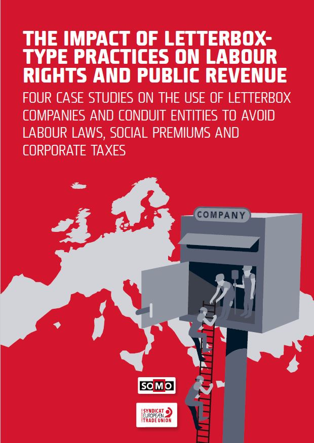 publication cover - The impact of letterbox-type practices on labour rights and public revenue
